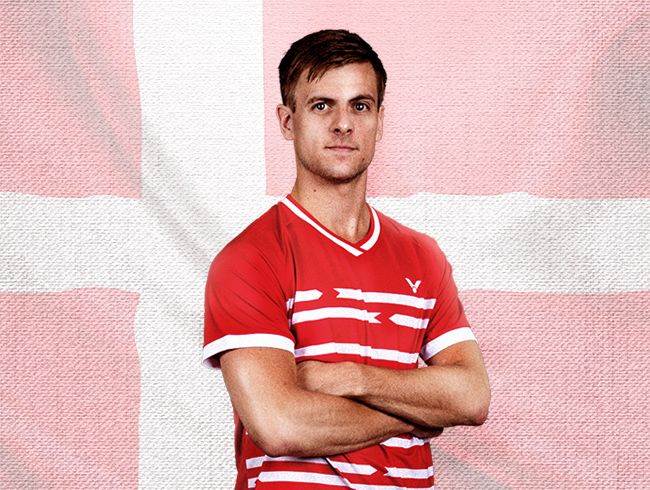 Danish Men's Singles H.K. Vittinghus joins VICTOR