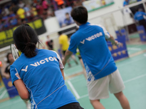 BADMINTON RULES (14):LETS